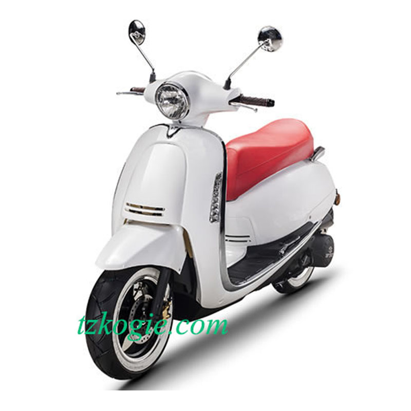 Gasoline scooter moped retro style scooter eivissa led