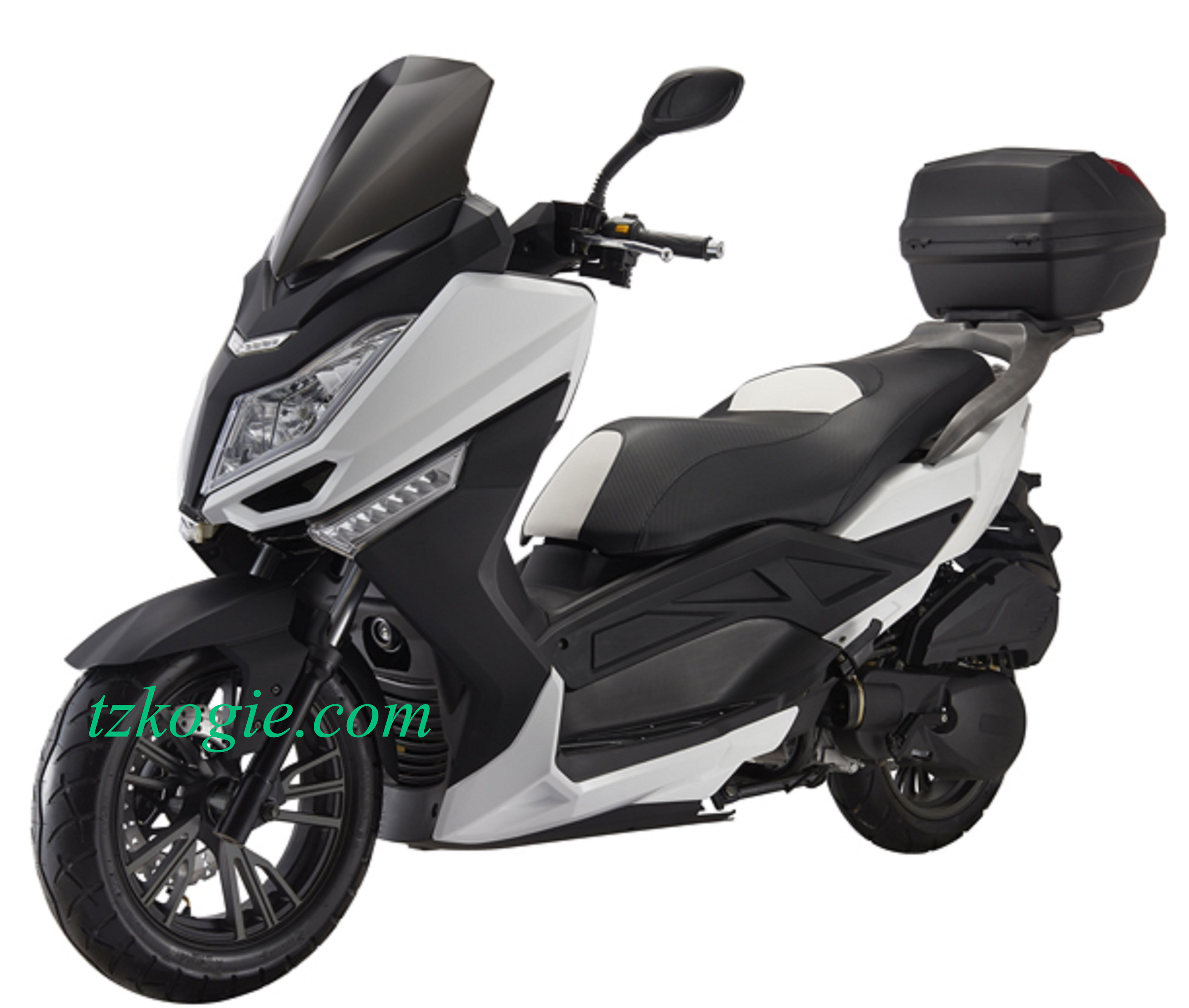 Gasoline scooter motorcycle bigger size moped scooters euro 4 E4 EFI Delphi Digital meter